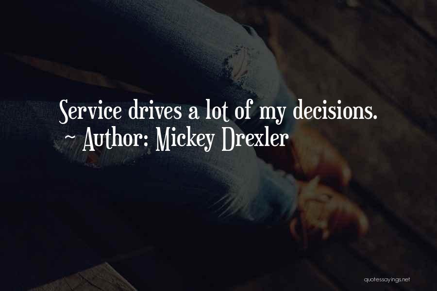Mickey Drexler Quotes 198947