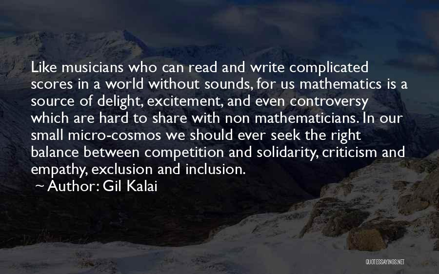 Micro World Quotes By Gil Kalai