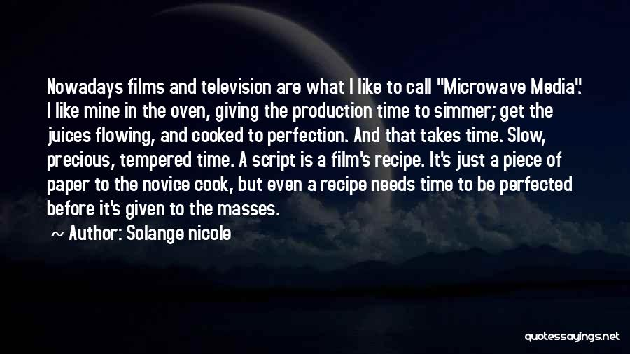 Microwave Oven Quotes By Solange Nicole