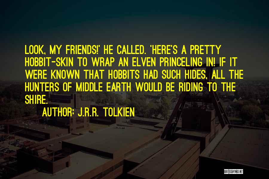 Middle Earth From The Hobbit Quotes By J.R.R. Tolkien