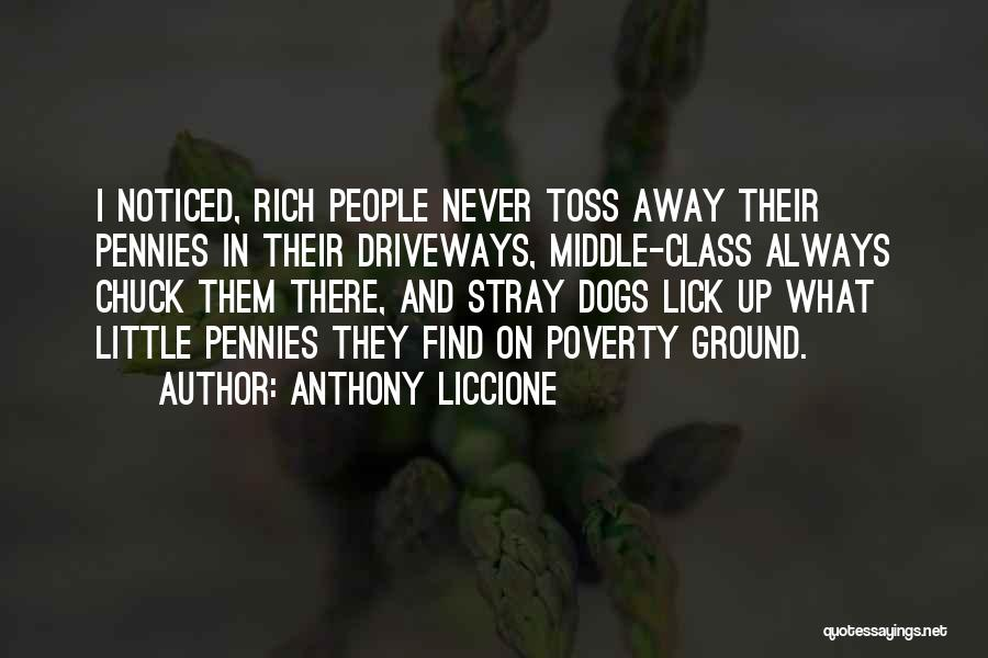 Middle Ground Quotes By Anthony Liccione
