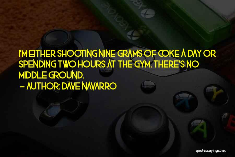 Middle Ground Quotes By Dave Navarro