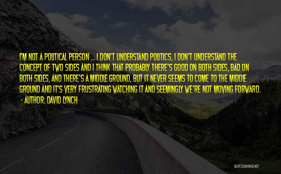 Middle Ground Quotes By David Lynch