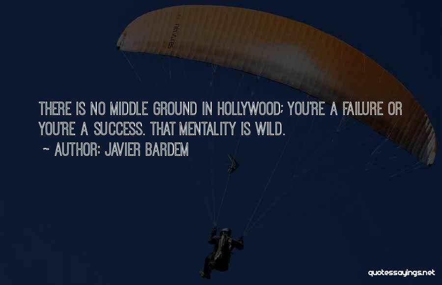 Middle Ground Quotes By Javier Bardem