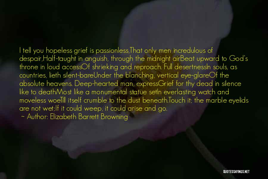 Midnight Express Quotes By Elizabeth Barrett Browning