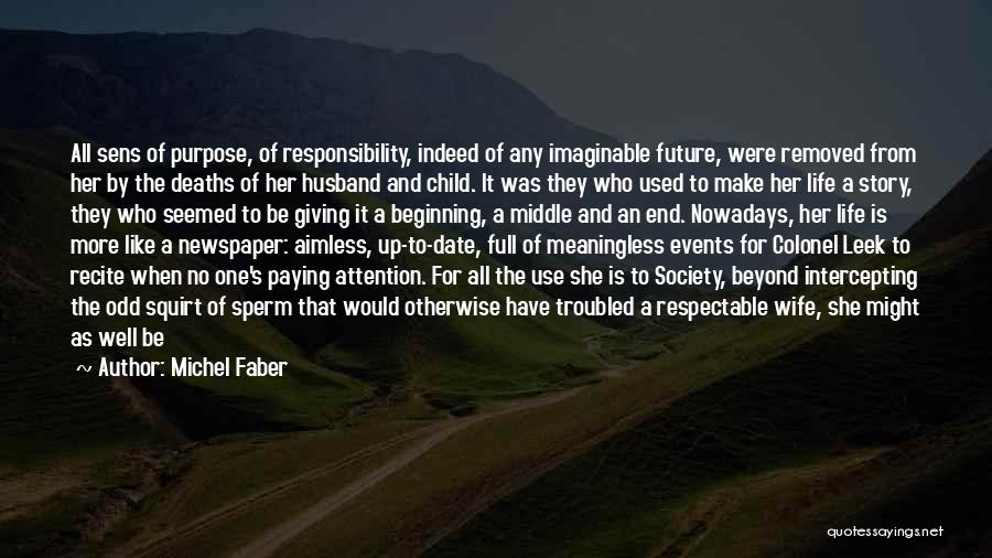 Might As Well Be Happy Quotes By Michel Faber
