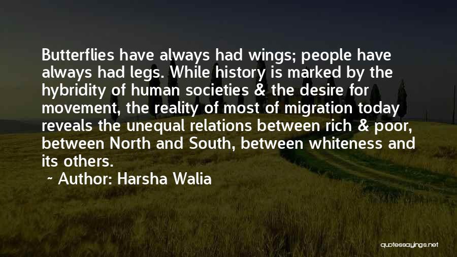 Migration Quotes By Harsha Walia