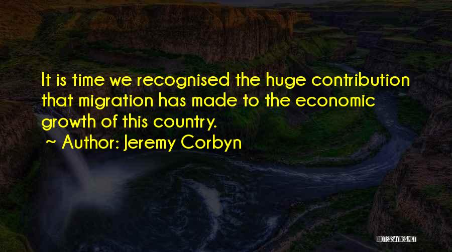 Migration Quotes By Jeremy Corbyn