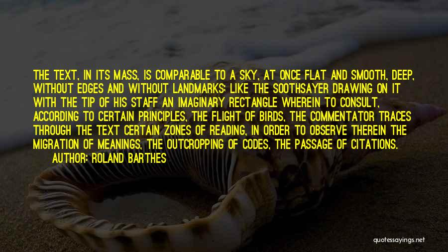 Migration Quotes By Roland Barthes