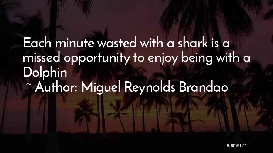 Miguel Reynolds Brandao Quotes 1220836