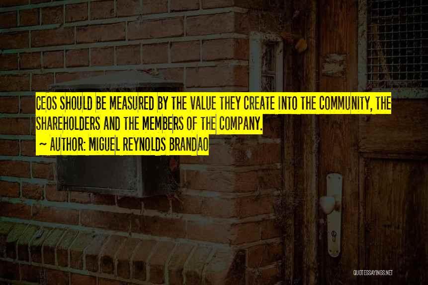 Miguel Reynolds Brandao Quotes 1437347