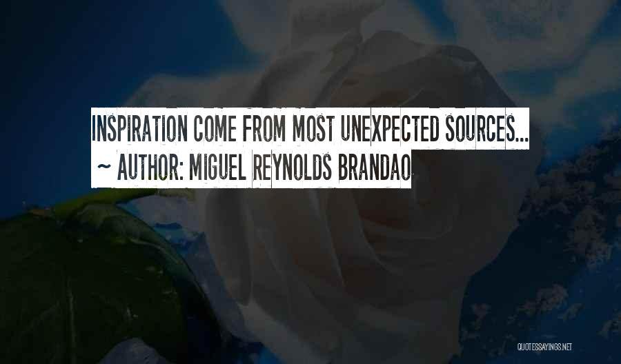 Miguel Reynolds Brandao Quotes 571244