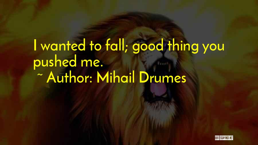 Mihail Drumes Quotes 2093512
