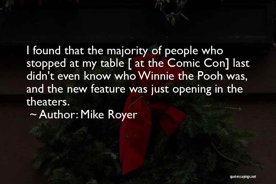 Mike Royer Quotes 2095625