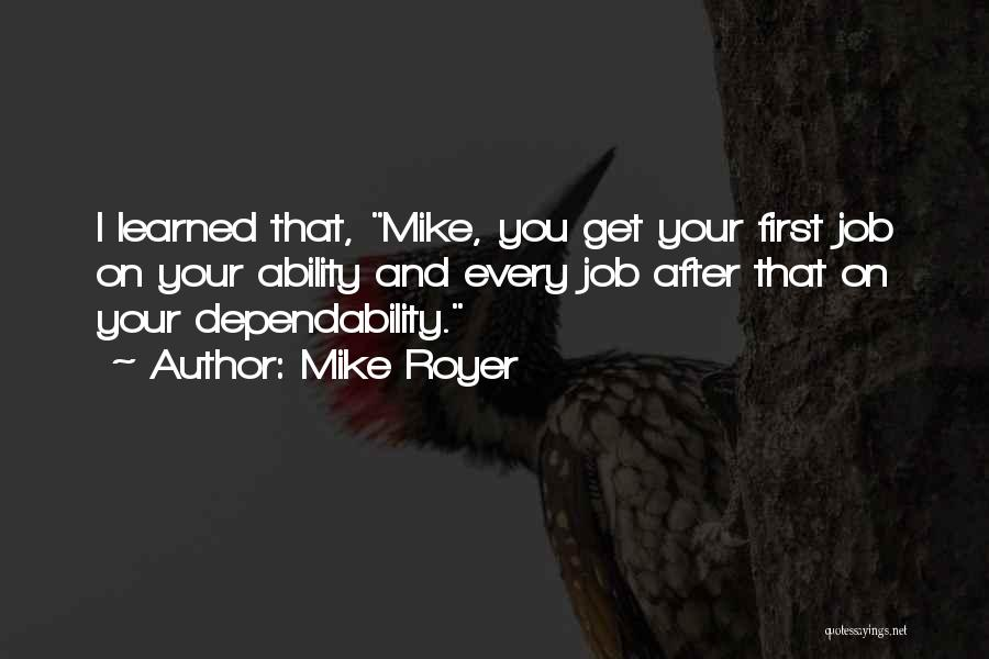 Mike Royer Quotes 977837