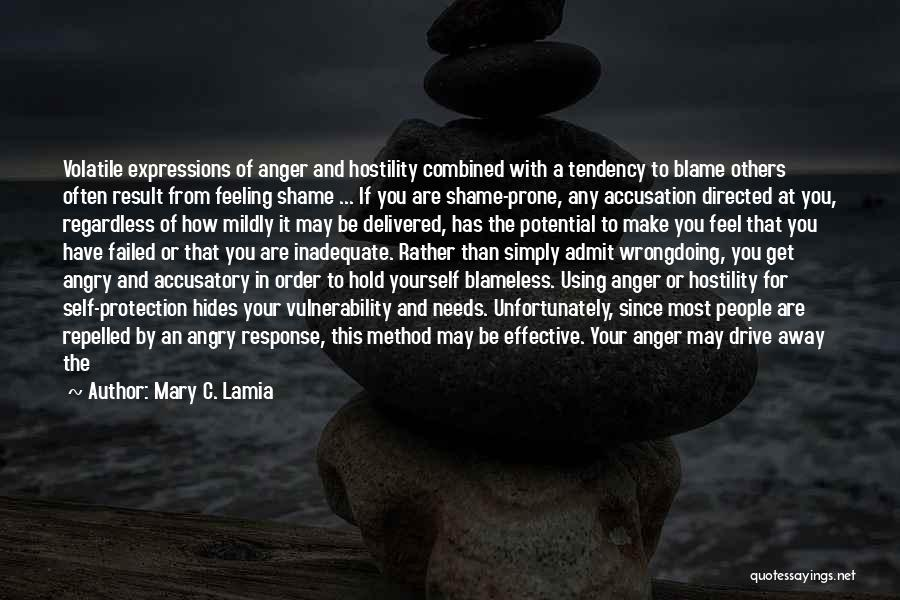Mildly Offensive Quotes By Mary C. Lamia