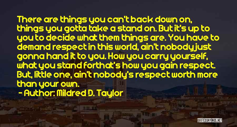 Mildred D. Taylor Quotes 1499152