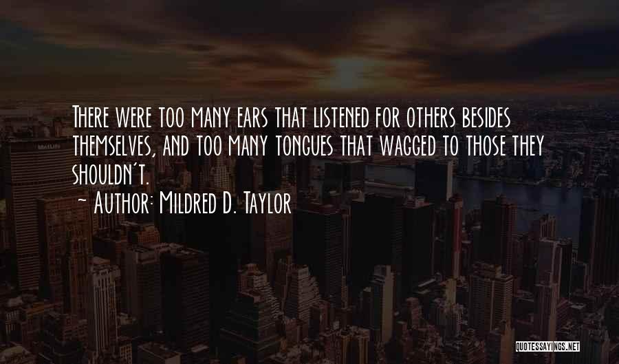 Mildred D. Taylor Quotes 1963799