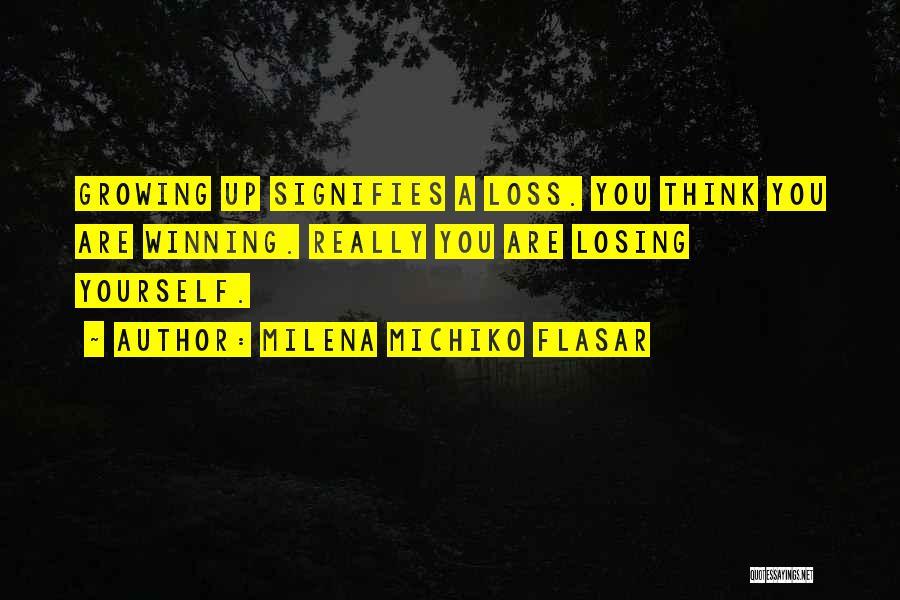Milena Michiko Flasar Quotes 829526