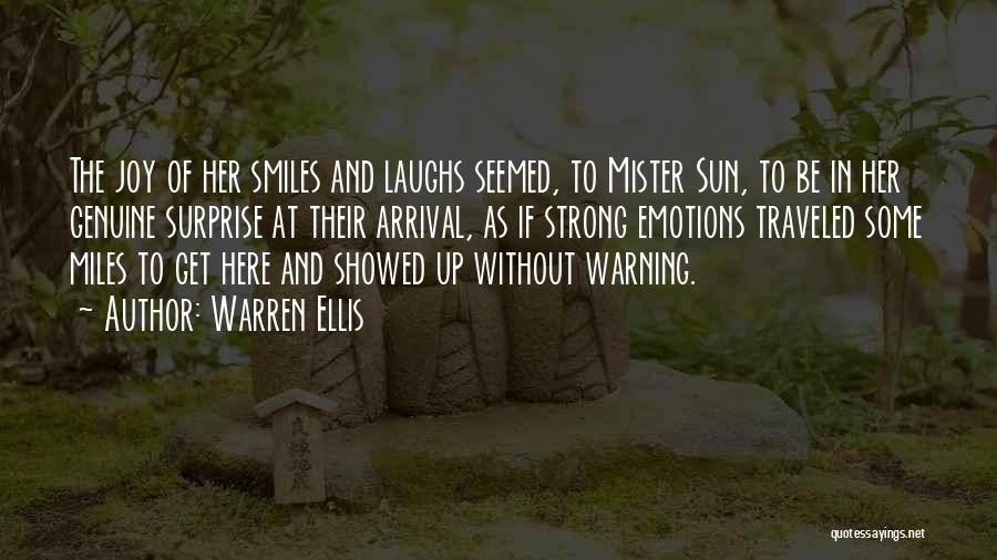 Miles Traveled Quotes By Warren Ellis