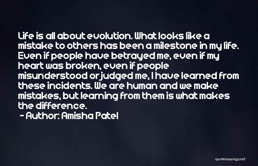 Milestone Quotes By Amisha Patel