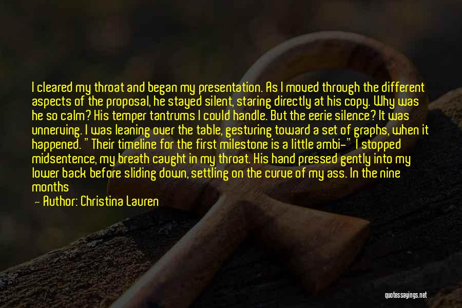 Milestone Quotes By Christina Lauren