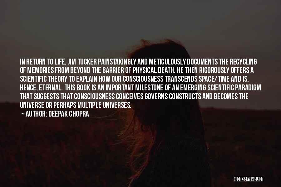 Milestone Quotes By Deepak Chopra