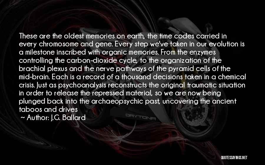 Milestone Quotes By J.G. Ballard
