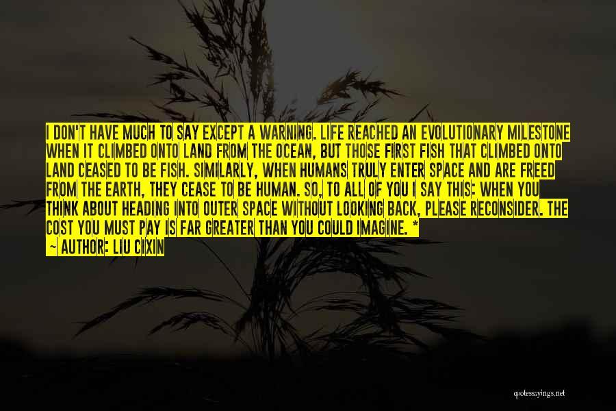 Milestone Quotes By Liu Cixin