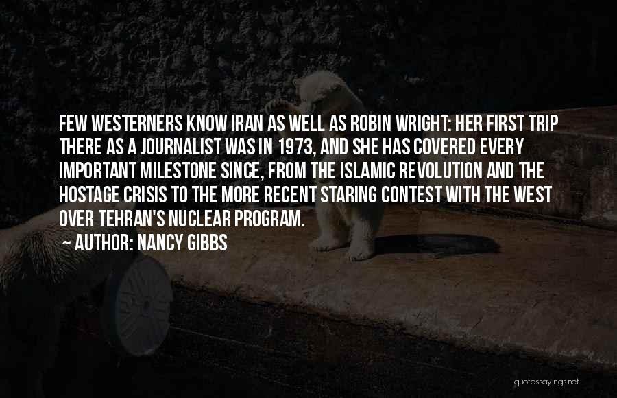 Milestone Quotes By Nancy Gibbs