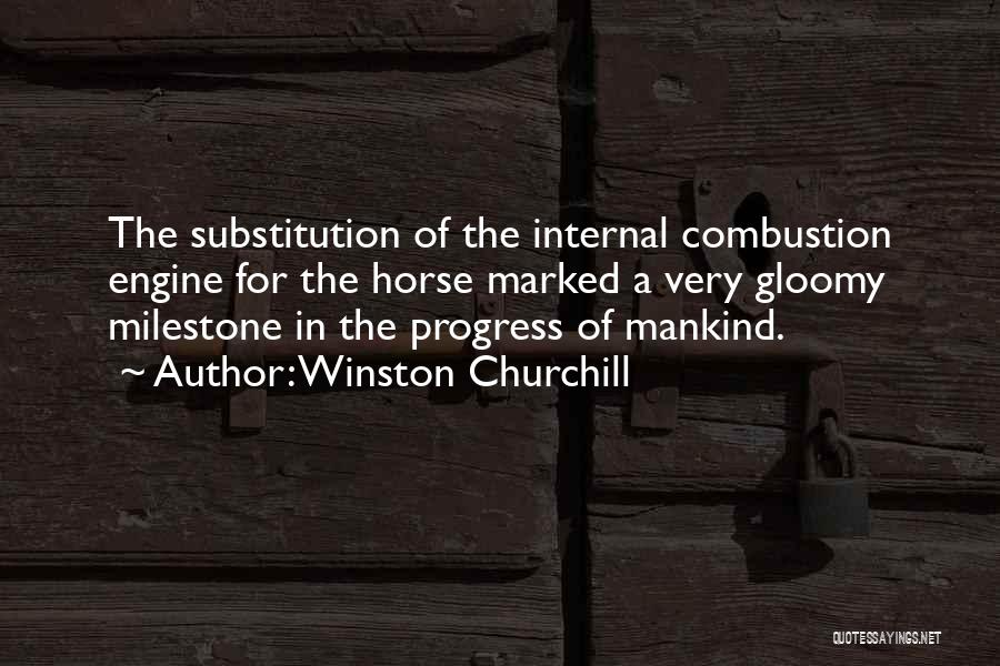 Milestone Quotes By Winston Churchill