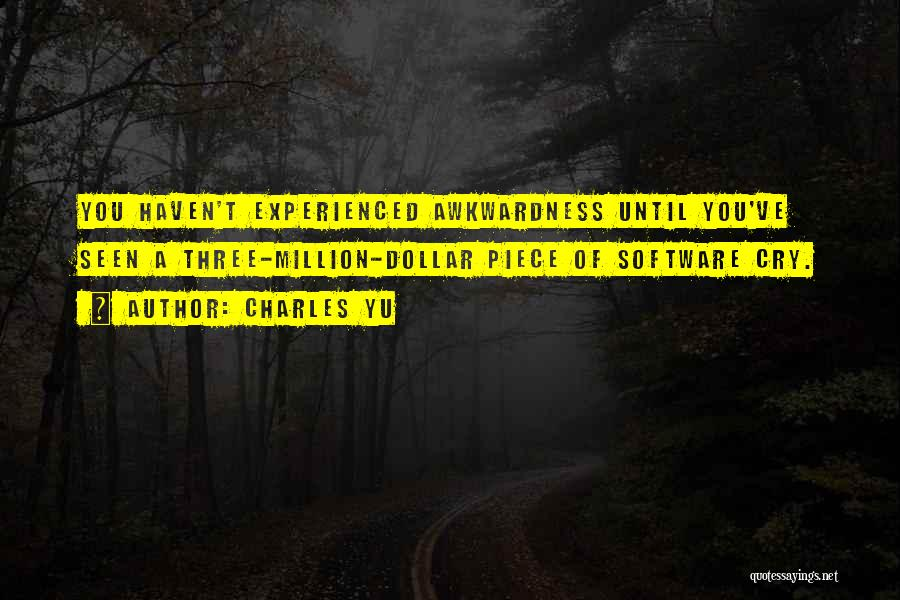 Million Dollar Quotes By Charles Yu