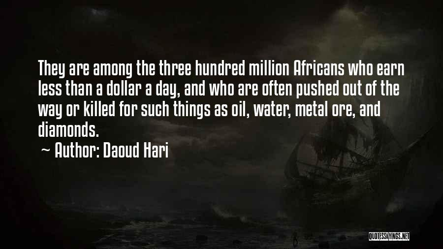 Million Dollar Quotes By Daoud Hari