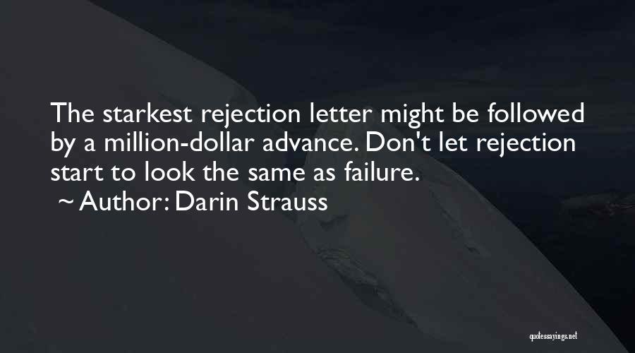 Million Dollar Quotes By Darin Strauss