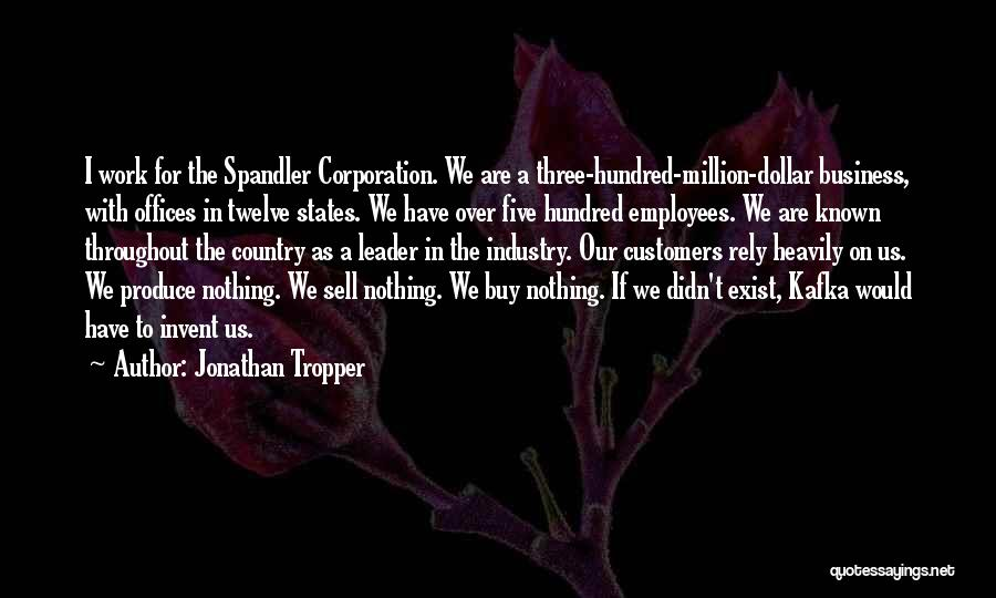Million Dollar Quotes By Jonathan Tropper