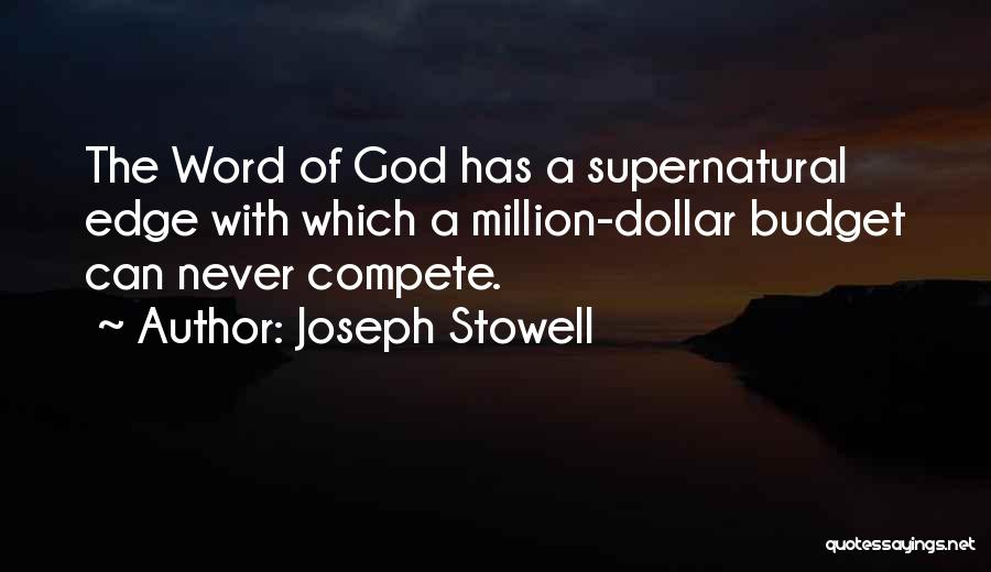 Million Dollar Quotes By Joseph Stowell