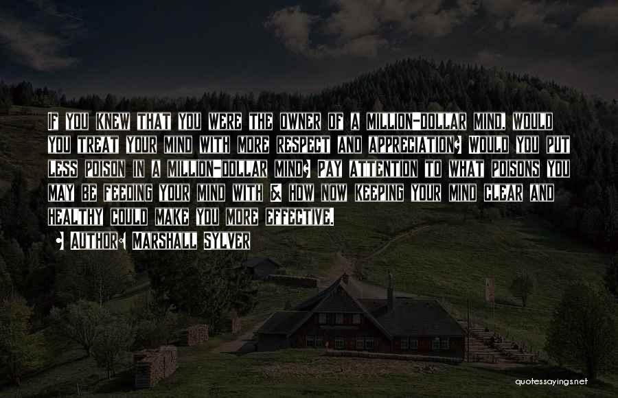Million Dollar Quotes By Marshall Sylver