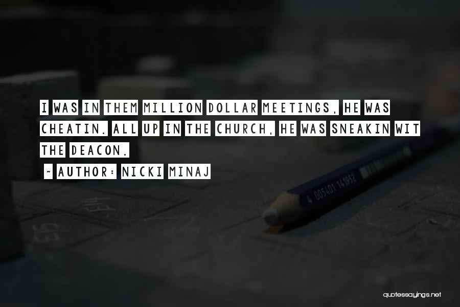 Million Dollar Quotes By Nicki Minaj