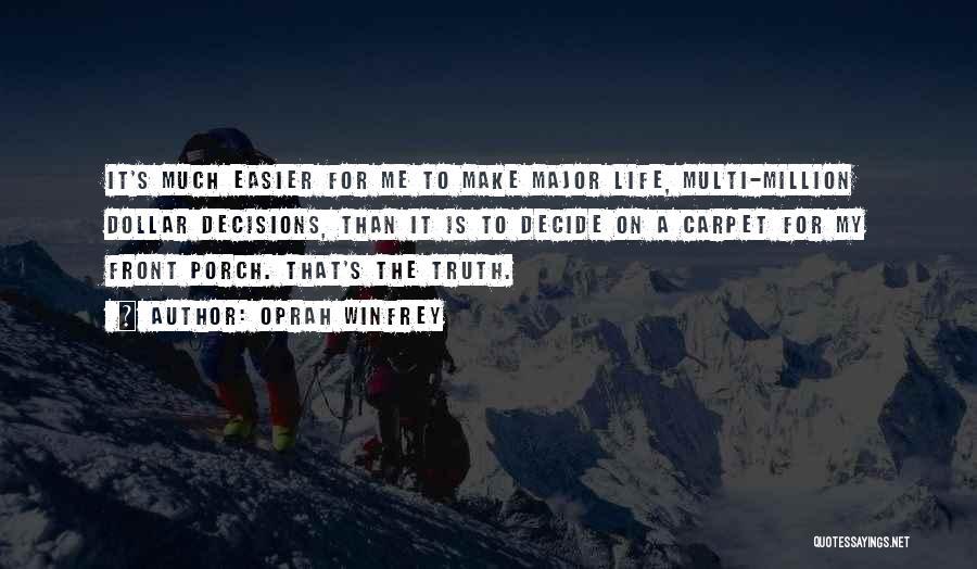 Million Dollar Quotes By Oprah Winfrey