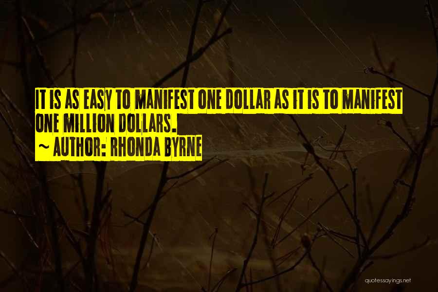 Million Dollar Quotes By Rhonda Byrne