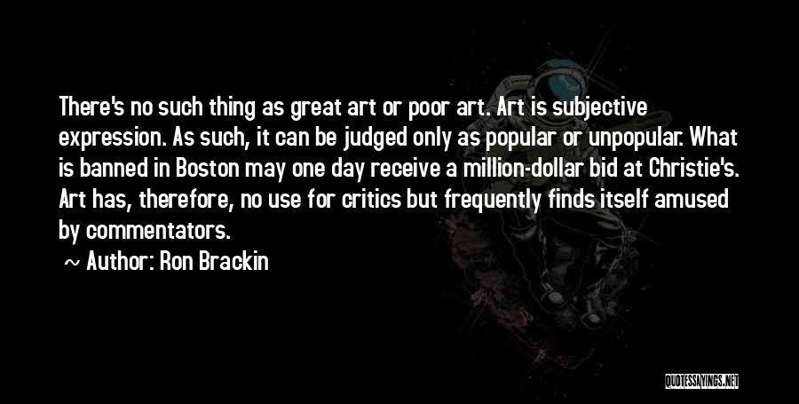 Million Dollar Quotes By Ron Brackin