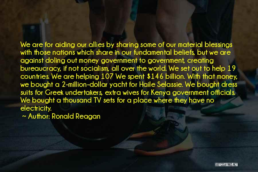 Million Dollar Quotes By Ronald Reagan