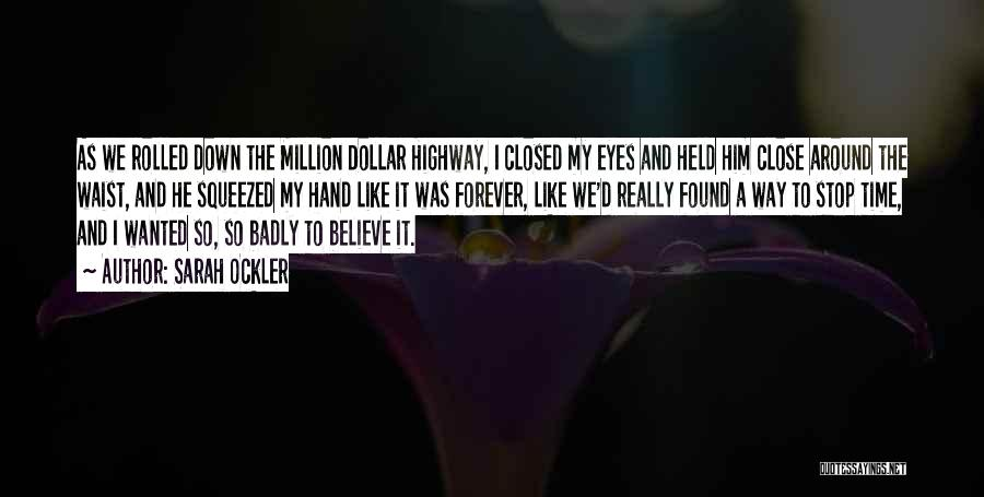 Million Dollar Quotes By Sarah Ockler