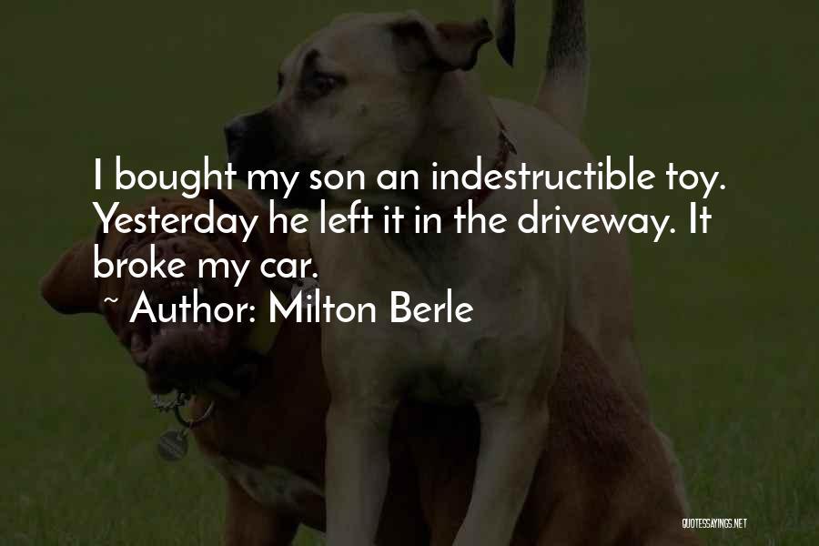 Milton Berle Quotes 1601680