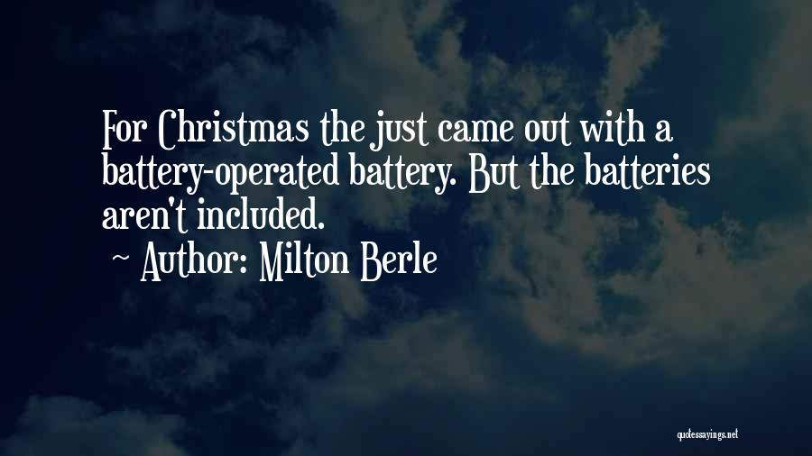 Milton Berle Quotes 2159940