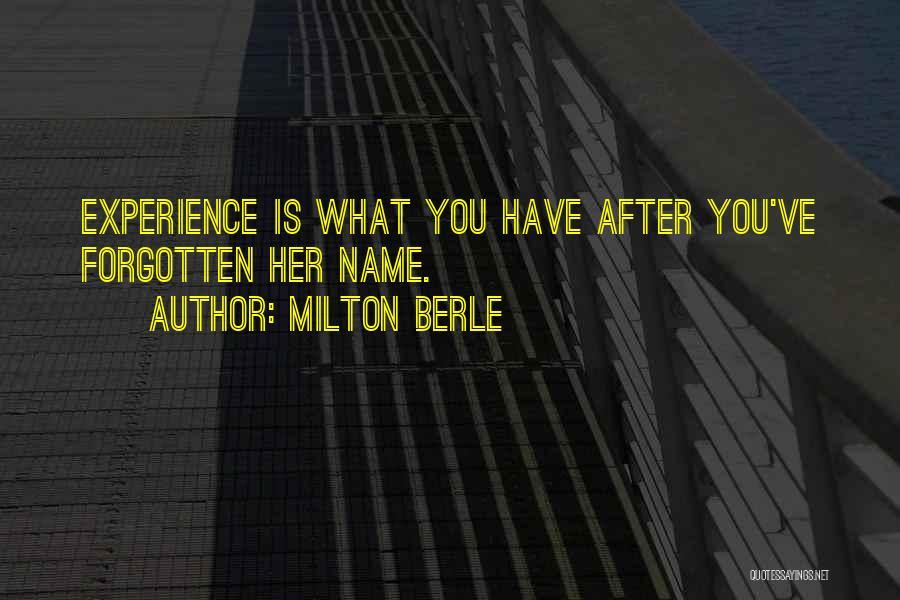 Milton Berle Quotes 473147