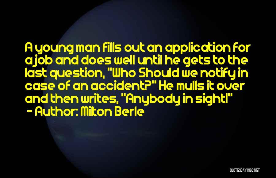 Milton Berle Quotes 638065