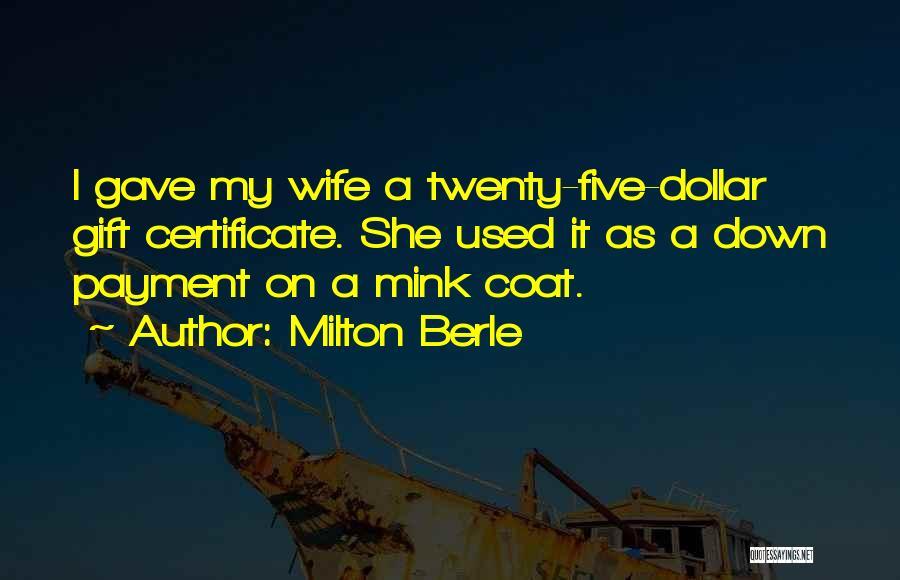 Milton Berle Quotes 980713