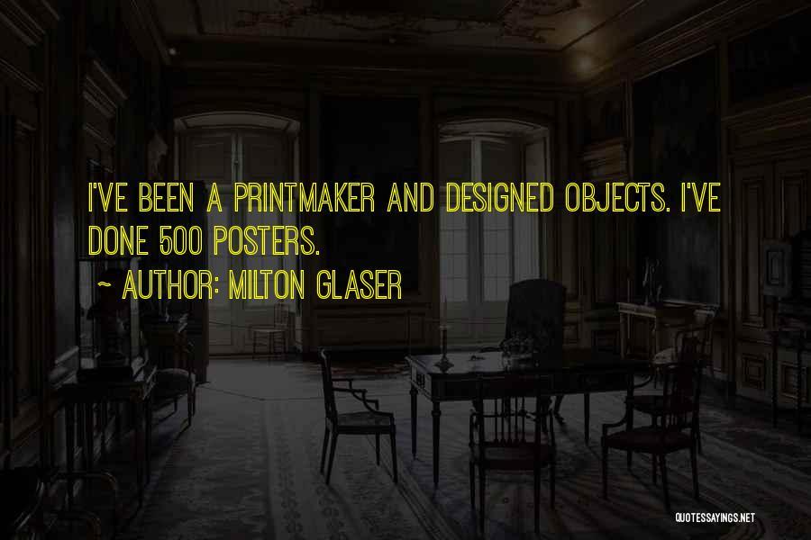 Milton Glaser Quotes 1497436
