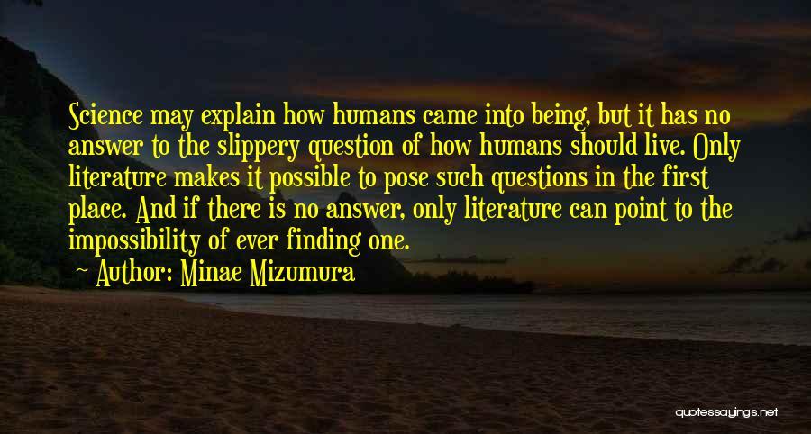 Minae Mizumura Quotes 465806